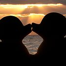 """""""The Kiss"""" - the rubber duckies smooching by ArtThatSmiles"""