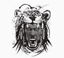 Mayan Jaguar Warrior by loko