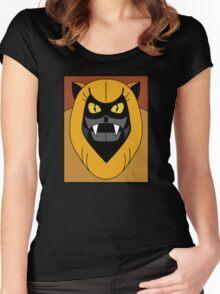 Ookla The Mok - Saturday Morning Cartoon Pop Art Women's Fitted Scoop T-Shirt