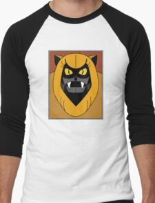 Ookla The Mok - Saturday Morning Cartoon Pop Art Men's Baseball ¾ T-Shirt