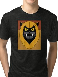 Ookla The Mok - Saturday Morning Cartoon Pop Art Tri-blend T-Shirt