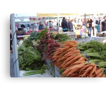 SF Farmers Market Canvas Print