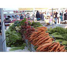 SF Farmers Market Photographic Print