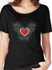Open Heart Women's Relaxed Fit T-Shirt