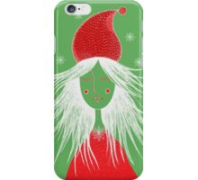 Girl is ready for Christmas. Xmas is here. Christmas fairy iPhone Case/Skin