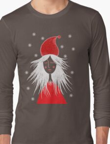 Girl is ready for Christmas. Xmas is here. Christmas fairy Long Sleeve T-Shirt