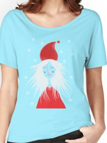 Girl is ready for Christmas. Xmas is here. Christmas fairy Women's Relaxed Fit T-Shirt
