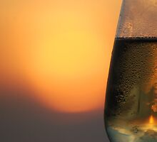 Sunset Bubbly by Lisa Baumeler