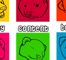 The Many Faces of the Ferret Sticker