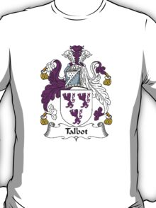 Coat of arms (family crest) for last-name or surname Talbot II . Heraldry banner for your name. T-Shirt