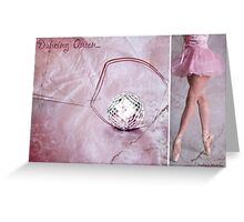 Dancing Queen... Diptych Greeting Card