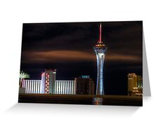The Stratosphere after the Rain Greeting Card