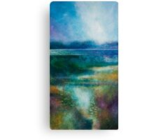 MISTY MORNING, GREAT LAKE Canvas Print