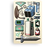 Cave Story Gear Canvas Print