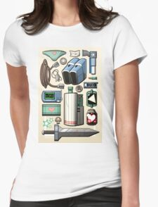 Cave Story Gear Womens Fitted T-Shirt