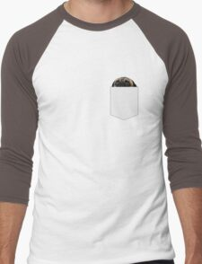 There's a pug in my pocket Men's Baseball ¾ T-Shirt