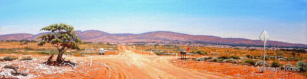 the Koonenberry Range by Michael Jones