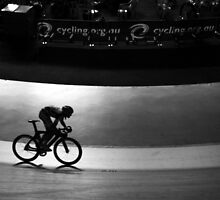 the cyclist by Steve Scully