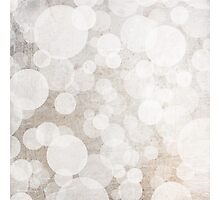 bubbles in brown and white and cream Photographic Print