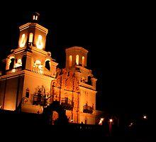 San Xavier Mission by Lightninghorse