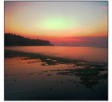 Bali beach by stiddy