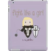 Fight Like a Girl - Crusader   Diablo 3 iPad Case/Skin