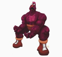 Sesame Street Fighter: Zellygief by gavacho13