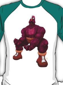 Sesame Street Fighter: Zellygief T-Shirt