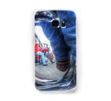 Denim, Boots & Chrome Samsung Galaxy Case/Skin