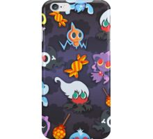 SPOOKY POKEMON AND CANDY iPhone Case/Skin
