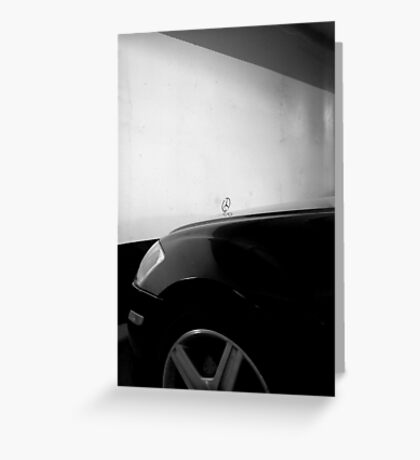She Goes With Everything- Mercedes Benz Greeting Card