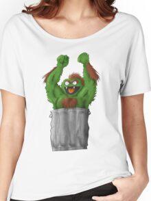 Sesame Street Fighter: Oska Women's Relaxed Fit T-Shirt