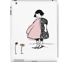 Flower Girl - Victorian illustration iPad Case/Skin