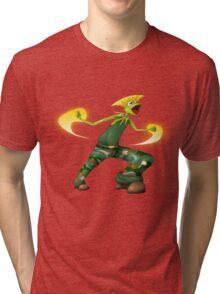 Sesame Street Fighter: Gurmit Tri-blend T-Shirt