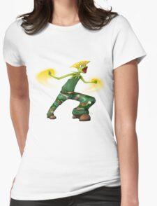 Sesame Street Fighter: Gurmit Womens Fitted T-Shirt