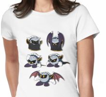 Meta Knight Expressions Womens Fitted T-Shirt