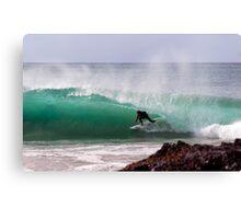 gold coast surfing Canvas Print