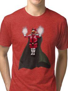 Sesame Street Fighter: Elmo Bison Tri-blend T-Shirt
