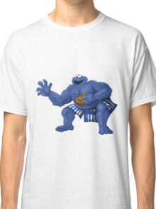 Sesame Street Fighter: C. Monda Classic T-Shirt