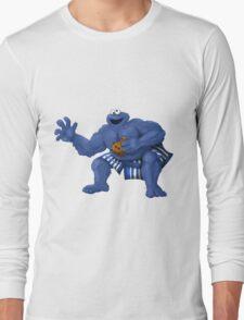 Sesame Street Fighter: C. Monda Long Sleeve T-Shirt