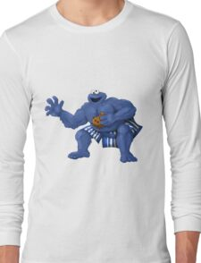 Sesame Street Fighter: C. Monda Long Sleeve T-Shirt