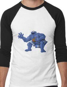 Sesame Street Fighter: C. Monda Men's Baseball ¾ T-Shirt