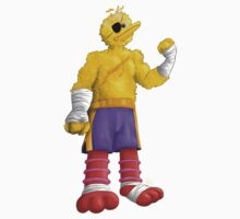 Sesame Street Fighter: Big Bagat by gavacho13