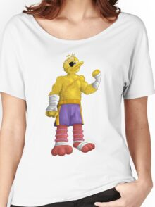 Sesame Street Fighter: Big Bagat Women's Relaxed Fit T-Shirt