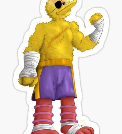 Sesame Street Fighter: Big Bagat Sticker