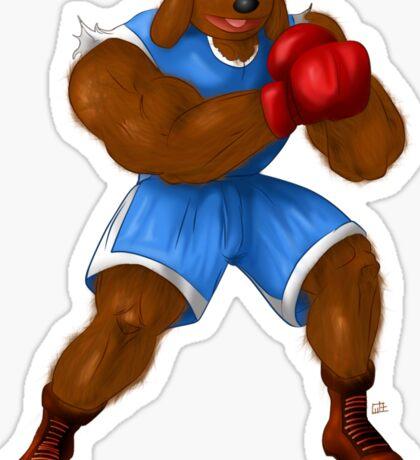 Sesame Street Fighter: Baldog Sticker