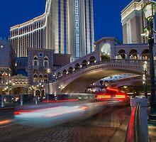 The Rialto Bridge Underpass - Las Vegas by Paul Louis Villani