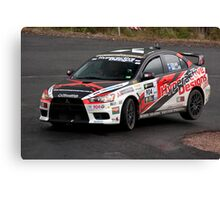 Mitsubishi Evolution 10 Canvas Print