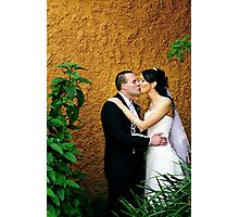 You may kiss the Bride... Photographic Print