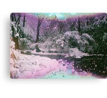 Snow Trilogy #2 Canvas Print